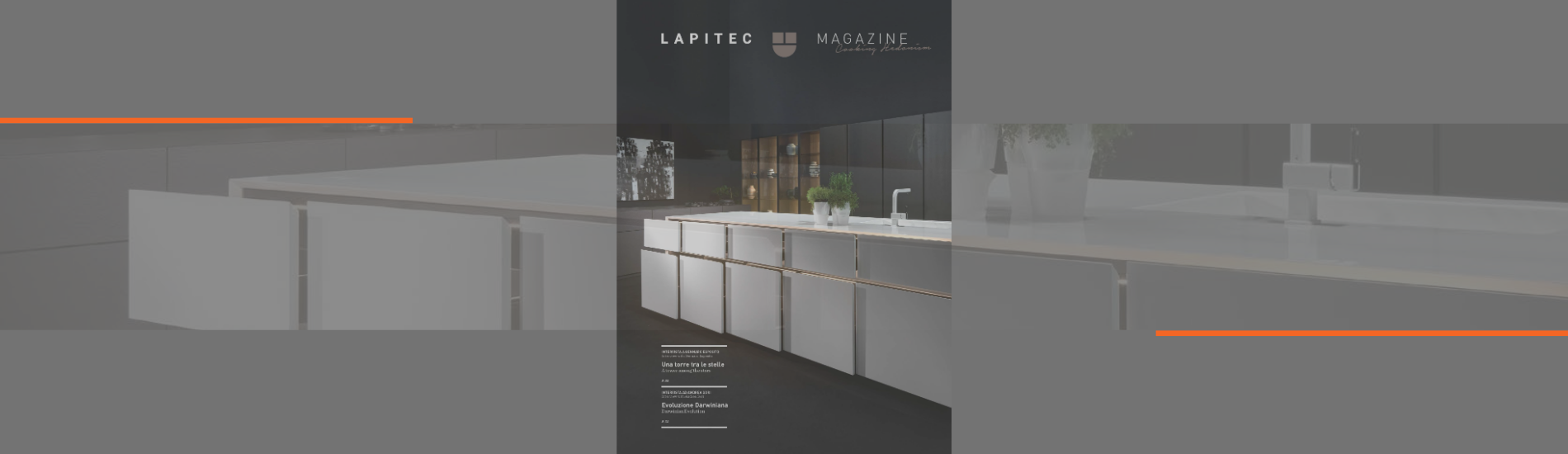 PUBLICATION: LAPITEC REFERENCE BOOK – KITCHEN EDITION 2020